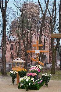 Могила схимонахини Рафаилы