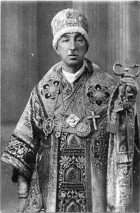 Обновленческий митрополит Александр Введенский
