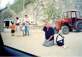 Так верный народ встречал Патриарха Сербского Павла. Фото: Светлана Луганская