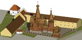 Проект храма-скита Преподобномученицы Елисаветы в г.Бухендорф на ул. Форштенридер-парк