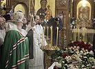 Святейший Патриарх Кирилл совершил литию у гроба священника Даниила Сысоева