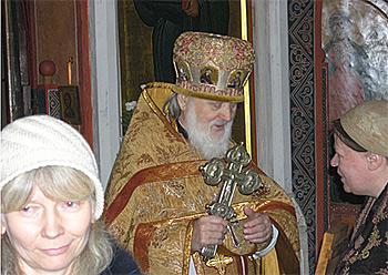 В день ангела о. Александра. 6 декабря 2007 г.