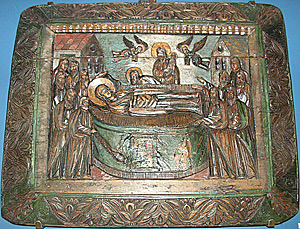 Киево-Печерская икона Успения Божией Матери
