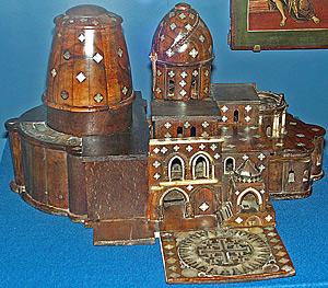 Модель храма Гроба Господня. Иерусалим, 1-я четв. XVII в.