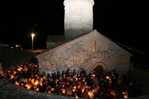 Пасха в Успенском монастыре