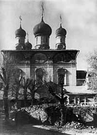Собор Сретения Владимирской иконы Божией Матери фото 1928 г.