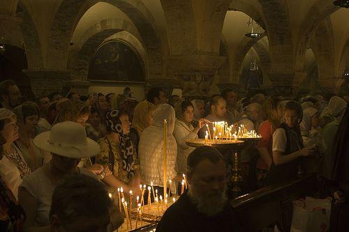 Православная литургия в день памяти свт. Николая. Фото:А.Поспелов / Православие.Ru