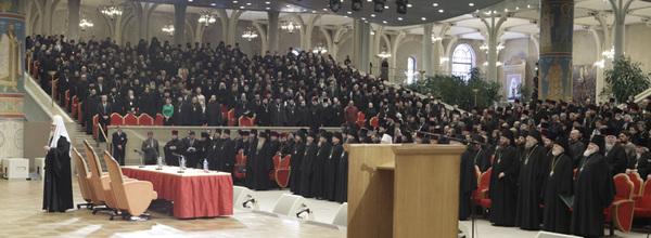 Епархиальное собрание города Москвы. Фото с сайта Patriarhia.ru