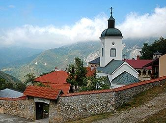 Загрузить увеличенное изображение. 676 x 500 px. Размер файла 77759 b.  Монастырь Сретения Господня. Центральная Сербия.