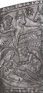 Трон Максимиана.Фрагмент.Сер.6 в.Архиепископский музей в Равенне.