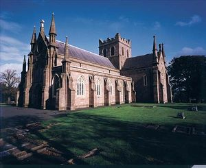 Cathedral of saint Patrick in Armagh