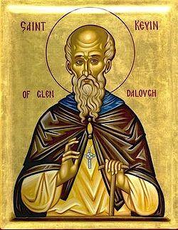 Преподобный Кевин, покровитель Дублина