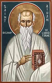 Святитель Айдан Линдисфарнский, чудотворец