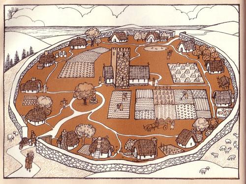 Схема монастыря на острове Айона