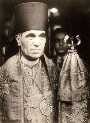Епископ Феофан (Ноли). 1950-е гг.