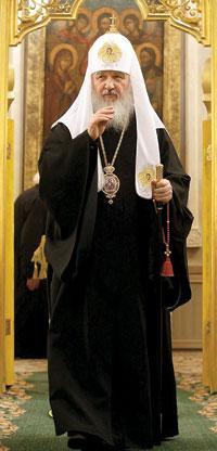 Патриарх Московский и всея Руси Кирилл / Фото предоставлено пресс-службой Патриарха