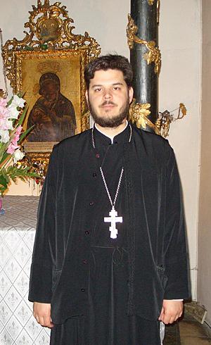 Священник Кирилл Татарка
