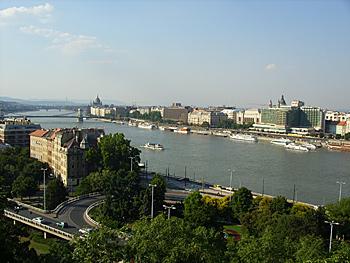 Будапешт раскинулся по обоим берегам Дуная