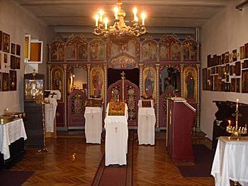 Сегед. В Церкви св.Георгия Победоносца