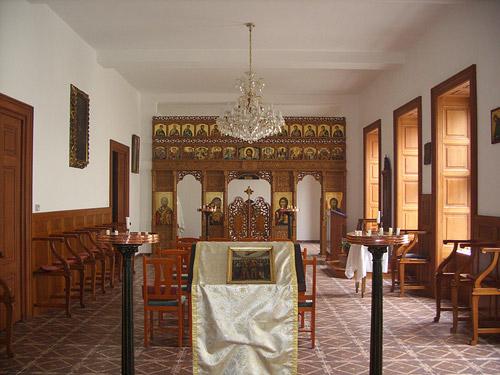 Интерьер румынской церкви святого Иоанна Крестителя