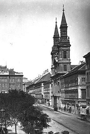 Успенский собор в Будапеште. Фото 2-й пол. XIX в.