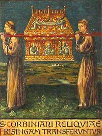 Перенесение мощей св. Корбиниана во Фрайзинг