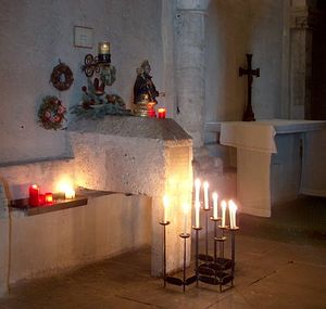 Гробница с частью мощей св. Нонносуса. Фото: Франц Нидермайер