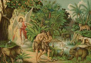 Загрузить увеличенное изображение. 1181 x 866 px. Размер файла 183553 b.  Изгнание Адама и Евы из Рая