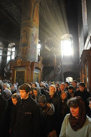 Great Lent. Sretensky Monastery. Photo V. Kornushin/Pravoslavie.ru