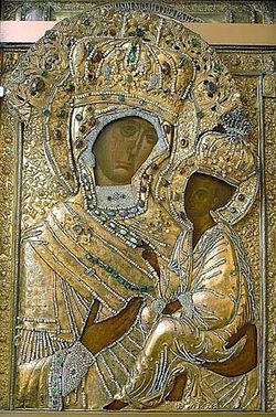 Тихвинская икона Пресвятой Богородицы