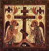 Всенощное бдение накануне Крестопоклонной недели в Сретенском монастыре