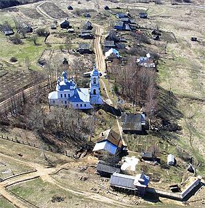 Село Жарки весной. Фото: Владимир Канабиман
