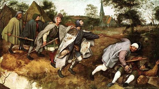 Peter Bruegel the Elder, The Blind Leading the Blind.