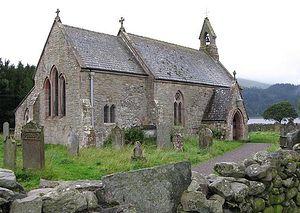 Загрузить увеличенное изображение. 640 x 454 px. Размер файла 107577 b.  Донорманнская церковь во имя святой Беги в Камбрии