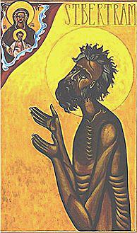 Святой Бертрам, отшельник Иламский