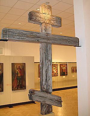 Крест из часовни Кирика и Улиты деревни Филипповская. XVIII в.