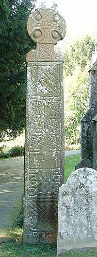 Кельтский крест в Неверне. X в.