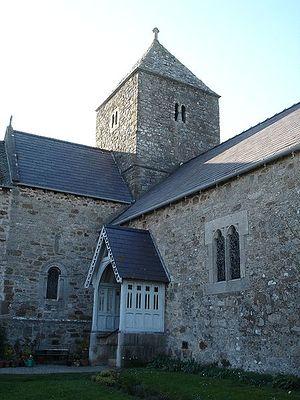 Церковь святого Сейриола в Пенмоне