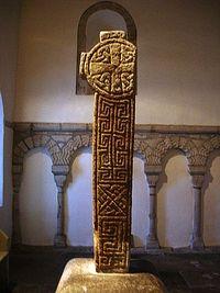 Остатки креста церкви святого Сейриола. X в.