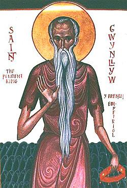 Святой Гундлий, король Уэльса, отшельник
