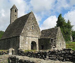 Церковь в Глендалоу (Ирландия)