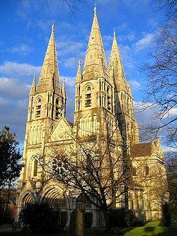 Собор святого Финбара в Корке (Ирландия)