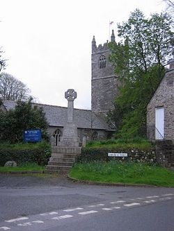Церковь святого Туди в Корнуолле