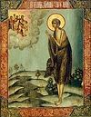 Вечернее богослужение в среду 5-й седмицы Великого поста в Сретенском монастыре