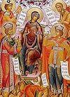 Вечернее богослужение в пятницу 5-й седмицы Великого поста в Сретенском монастыре