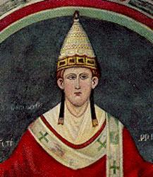 Папа Иннокентий III (1198-1216), благословивший IV Крестовый поход, обернувшийся завоеванием Константинополя в 1204 году