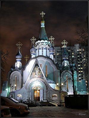 Храм Воскресения Христова в Сокольниках. Фото: e76417bb.ya.ru