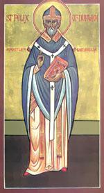 Святитель Феликс, день памяти 8/21 марта.