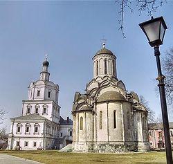 Загрузить увеличенное изображение. 650 x 475 px. Размер файла 64997 b.  Московский Спасо-Андроников монастырь