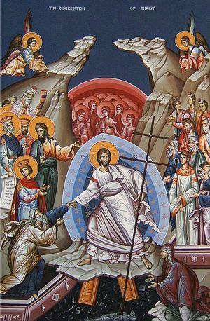 Загрузить увеличенное изображение. 500 x 763 px. Размер файла 197277 b.  Воскресение Христово